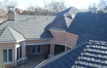 Stone coated steel roof installation
