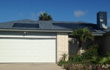 Powerhouse solar shingle roofing installation